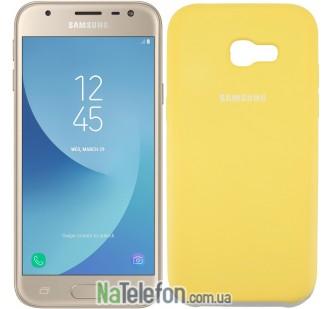 Чехол Original Soft Case для Samsung A720 (A7-2017) Золотой