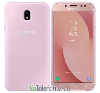 Чехол Original Soft Case для Samsung J330 (J3-2017) Розовый