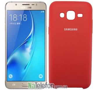 Чехол Original Soft Case для Samsung J700 (J7) Красный