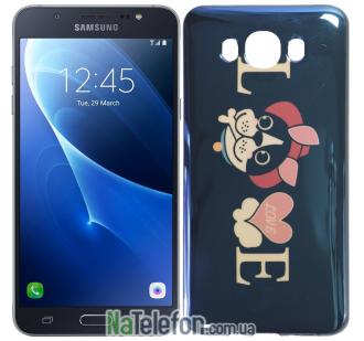 Чехол U-Like Picture series для Samsung J710 (J7 2016) Love Balck