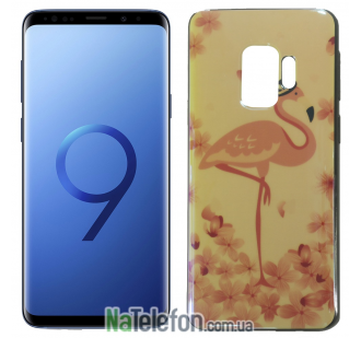 Чехол U-Like Picture series для Samsung G960 Galaxy S9 Flamingo