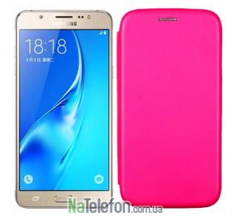 Чехол книжка U-Like Best для Samsung Galaxy J300/J320 (2016) Pink
