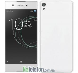Ультра тонкий силиконовый чехол 0.3 mm для Sony Xperia XA1 White