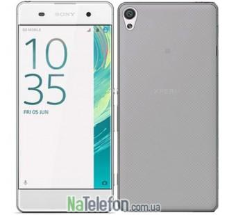 Силиконовый чехол Original Silicon Case Sony Xperia XA Black