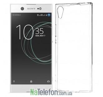 Ультра тонкий силиконовый чехол 0.3 mm для Sony Xperia XA1 Ultra White