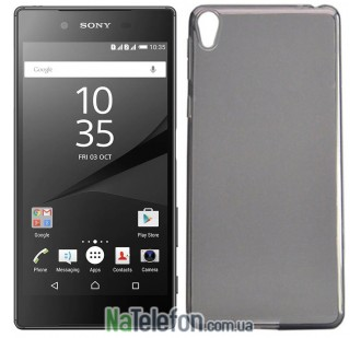 Силиконовый чехол Original Silicon Case Sony Xperia Z5 Black