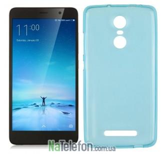Чехол Ultra Thin Silicone Remax 0.2 mm для Xiaomi Redmi Note 3 Blue