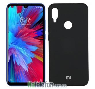 Чехол Original Soft Case для Xiaomi Mi Play Черный FULL