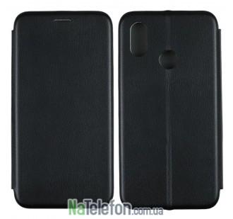 Чехол книжка U-Like Best для Xiaomi Mi8 Black