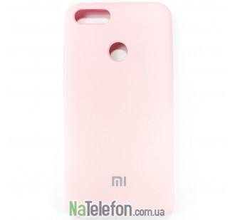 Чехол Original Soft Case для Xiaomi Mi5x/A1 Розовый
