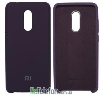 Чехол Original Soft Case для Xiaomi Redmi 5 Plus Фиолетовый