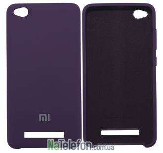 Чехол Original Soft Case для Xiaomi Redmi 4a Фиолетовый