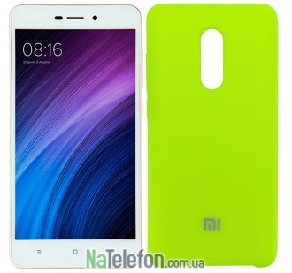 Чехол Original Soft Case для Xiaomi Redmi 5 Ярко Салатовый