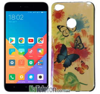 Чехол U-Like Picture series для Xiaomi Redmi Note 5a Prime Butterfly