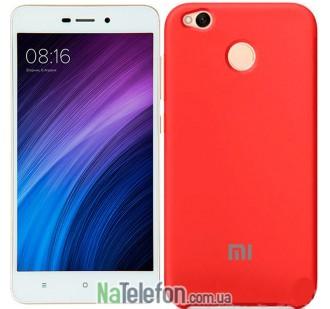 Чехол Original Soft Case для Xiaomi Redmi 4x Красный
