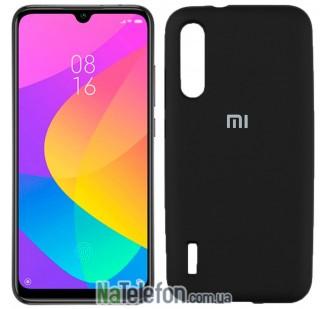 Чехол Original Soft Case для Xiaomi Mi A3 Чёрный FULL