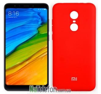 Чехол Original Soft Case для Xiaomi Redmi 5 Plus Красный FULL
