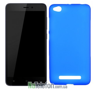 Силиконовый чехол Original Silicon Case Xiaomi Redmi 4a Blue