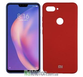 Чехол Original Soft Case для Xiaomi Mi8 Lite Красный FULL