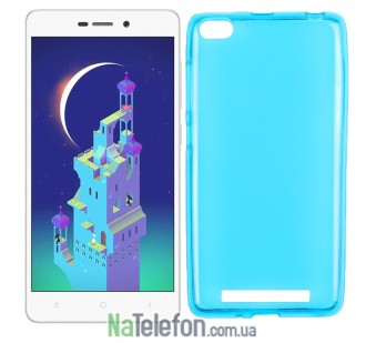 Силиконовый чехол Original Silicon Case Xiaomi Redmi 3 Blue