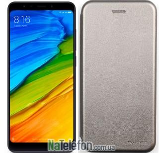 Чехол книжка U-Like Best для Xiaomi Redmi Note 5/Note 5 Pro Grey