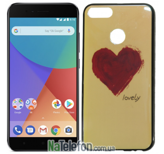 Чехол U-Like Picture series для Xiaomi Mi 5x/A1 Heart Blue
