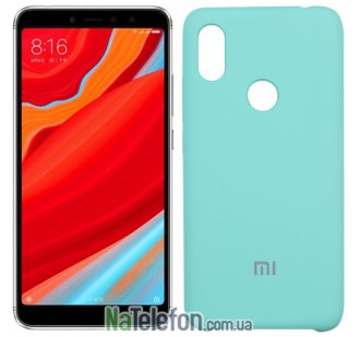 Чехол Original Soft Case для Xiaomi Redmi S2 Мятный