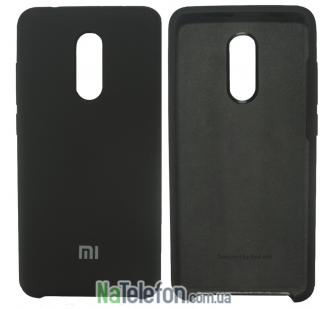 Чехол Original Silicone Case для Xiaomi Redmi 5 Black