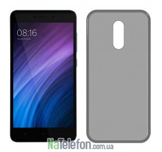 Ультра тонкий силиконовый чехол 0.3 mm для Xiaomi Redmi Note 4x Black