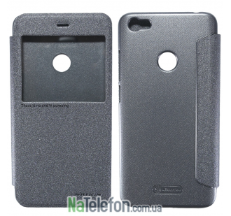 Чехол книжка NILLKIN Sparkle series Xiaomi Redmi Note 5a Prime/ Redmi Y1 Black