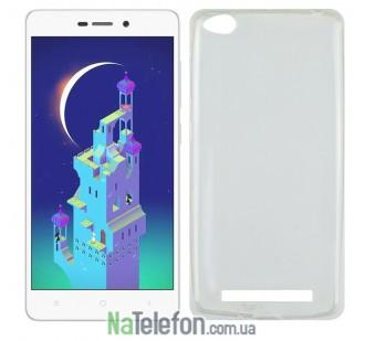 Чехол Ultra Thin Silicone Remax 0.2 mm для Xiaomi Redmi 3 White