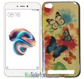 Чехол U-Like Picture series для Xiaomi Redmi 5a/Redmi Go Butterfly