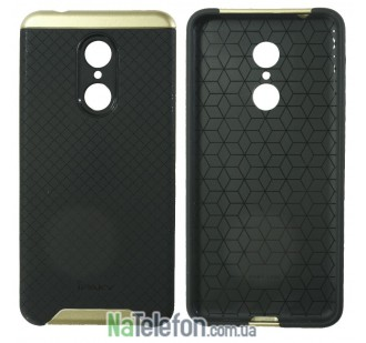 Накладка iPaky (OR) Carbon TPU + Bumper for Xiaomi Redmi 5 Gold