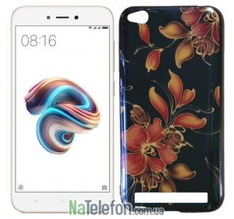 Чехол U-Like Picture series для Xiaomi Redmi 5a/Redmi Go Flowers