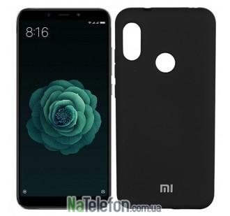 Чехол Original Soft Case для Xiaomi Mi6x/Mi A2 Черный FULL
