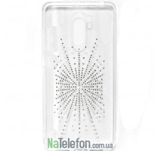 Чехол Diamond Silicon Younicou для Xiaomi Redmi 4 Silver Shine