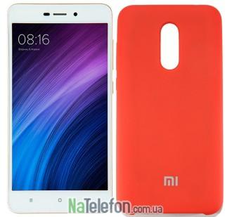 Чехол Original Soft Case на Xiaomi Redmi 5 Красный