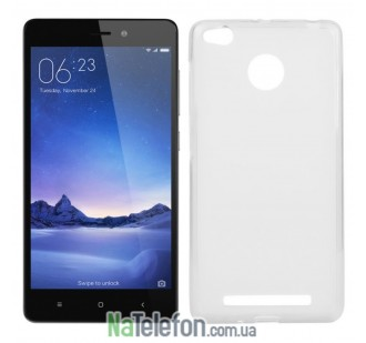 Чехол Ultra Thin Silicone Remax 0.2 mm для Xiaomi Redmi 3s/3x/3 Pro White