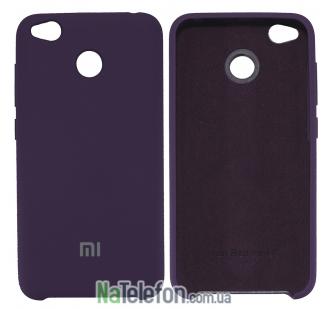 Чехол Original Soft Case для Xiaomi Redmi 4x Фиолетовый