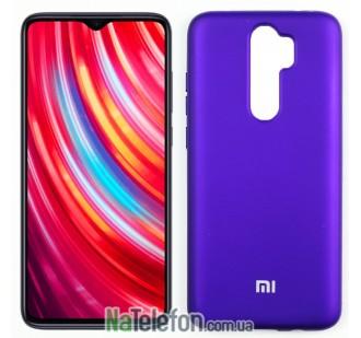 Чехол силиконовый оригинальный Xiaomi Redmi Note 8 Pro Фиолетовый FULL