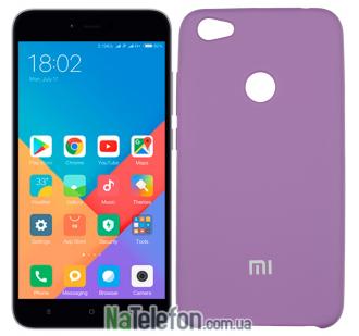 Чехол Original Soft Case для Xiaomi Redmi Note 5a Prime Фиолетовый