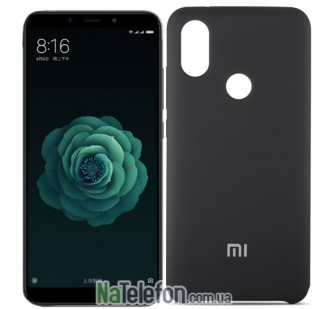 Чехол Original Soft Case для Xiaomi Mi6x/Mi A2 Черный