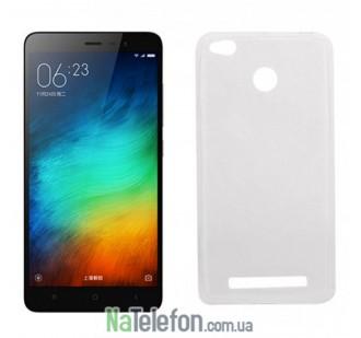Силиконовый чехол для Xiaomi Redmi 3 Pro/3s Fashion белый
