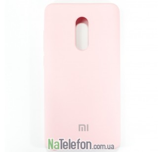 Чехол Original Soft Case для Xiaomi Redmi Note 4x Розовый