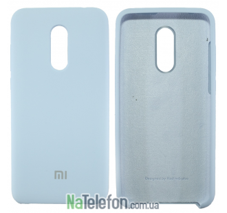 Чехол Original Soft Case на Xiaomi Redmi 5 Plus Голубой