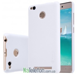 Чехол NILLKIN Super Frosted Shield для Xiaomi Redmi 3s/3x/3 Pro White