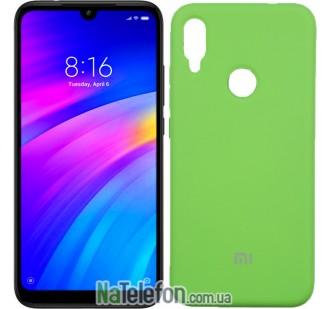 Чехол Original Soft Case для Xiaomi Redmi Note 7 Зеленый