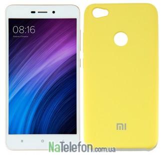 Чехол Original Soft Case на Xiaomi Redmi Note 5a Prime Золотой
