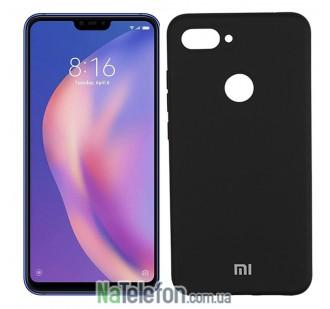 Чехол Original Soft Case для Xiaomi Mi8 Lite Черный FULL
