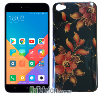 Чехол U-Like Picture series для Xiaomi Redmi Note 5a Flowers